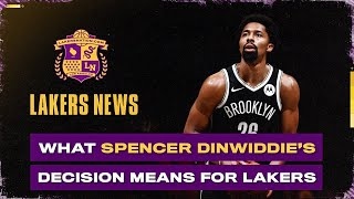 Spencer Dinwiddie's Decision Is Important For The Lakers