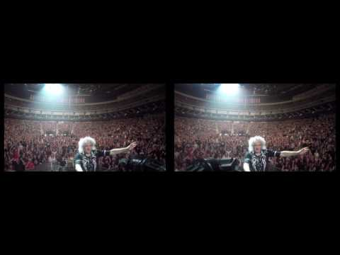 @DrBrianMay Selfie Stick Video |3D| Edmonton, AB [July 4, 2017] Queen + Adam Lambert