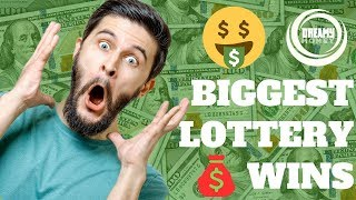 7 Biggest LOTTERY JACKPOTS in the World (Big Lottery Winners)
