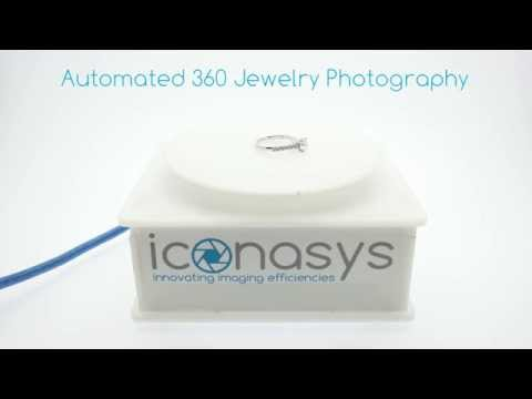 360 Jewelry Photography Turntable