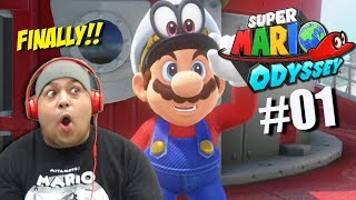 THE WAIT IS OVER!! [SUPER MARIO ODYSSEY] [#01]