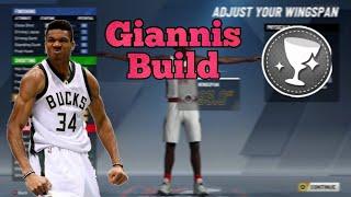 *NEW* GIANNIS ANTETOKOUNMPO BUILD!!! GIANNIS BUILD 2K20