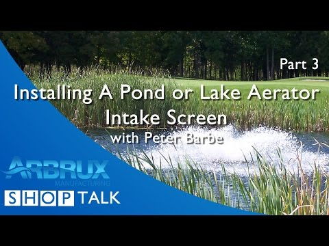 How to Install an Intake Screen on Your Pond Aerator - Part 3