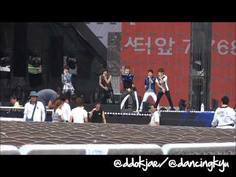 120814 Nation Concert EXO-K - MAMA Rehearsal
