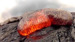 7 15 13 Lava Flow Hawaii Kilauea Volcano Lava Flow GoPro Hero 2