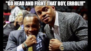 "BREAKING NEWS: SUGAR RAY LEONARD TO ERROL SPENCE: ""FIGHT CANELO, PLAYA!!"": Episode #20"