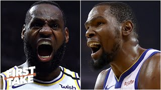 Are the days of LeBron-Kevin Durant being NBA's best rivalry over? (Part 1) | First Take