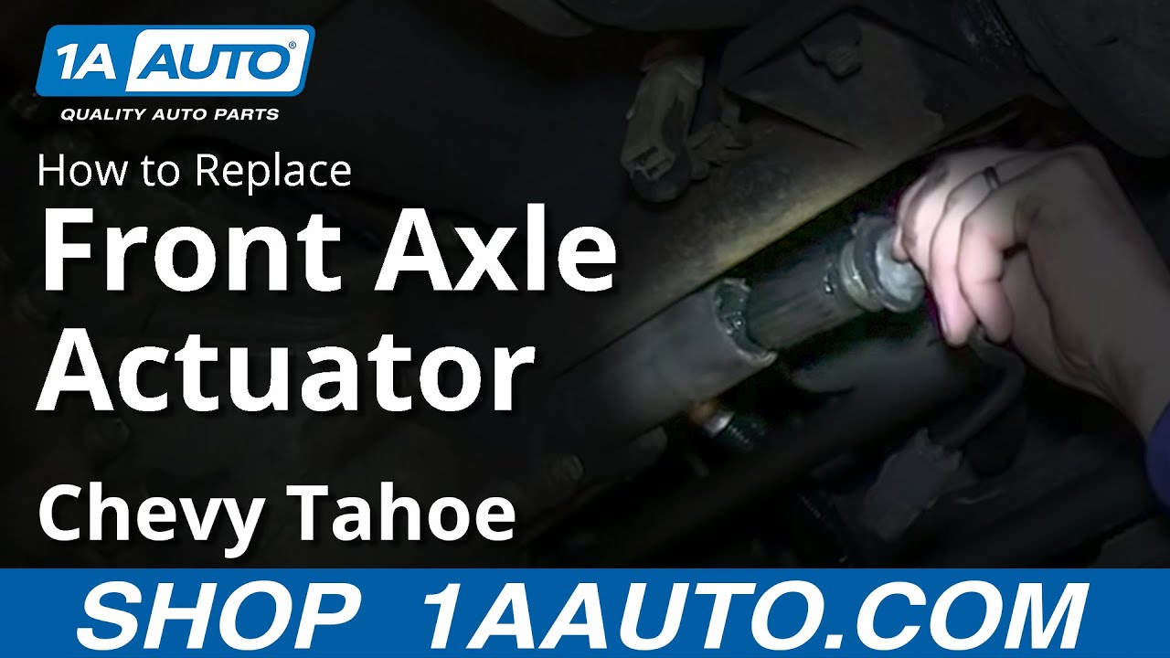 install repalce front  axle actuator