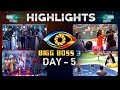 Bigg Boss Day 5 highlights: Varun warns Mahesh for talking rudely with his wife