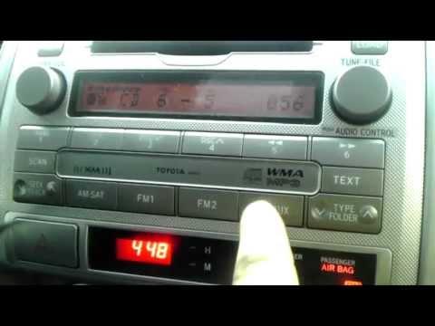 Toyota Aux Audio Input Repair