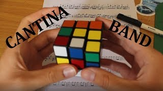 """Cantina Theme"" Played By Rubik's Cube Whilst Being Solved"