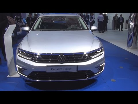 Volkswagen Passat GTE Variant 1.4 TSI Plug-In-Hybrid DSG 218 hp (2016) Exterior and Interior in 3D