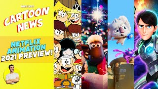 NETFLIX Animated Movies 2021 Announced & Detailed First Looks | CARTOON NEWS