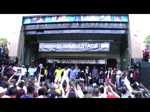 (live) Big Daddy Kane - Warm It Up, Kane, @ Herbert Von King Park 6.12.13