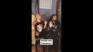 Janet Jackson surprises missy Elliot