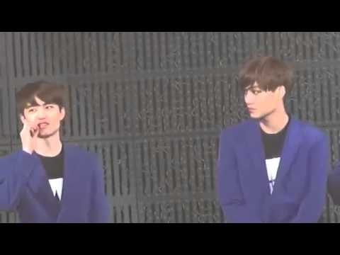 Baekhyun makes D.O. angry and Kai be jealous from Suho XD [Exo]