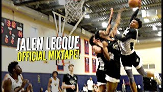 "Jalen Lecque OFFICIAL MIXTAPE!! ""Baby Westbrook"" Has The CRAZIEST BOUNCE IN HIGH SCHOOL!"