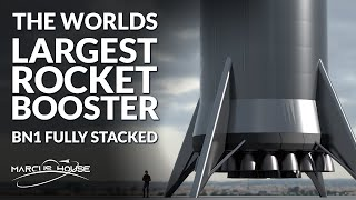 SpaceX Starship BN1 (Booster Number 1) Fully Stacked!, SLS Core Stage Hot Fire, Relativity Space