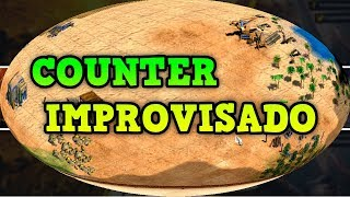 Age of Empires 2 HD Counter Improvisado AoE2HD Gameplay PT BR