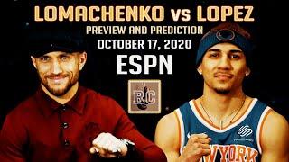 Vasyl Lomachenko vs Teofimo Lopez - Preview & Prediction