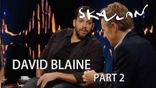 David Blaine ice pick magic   Part 2   SVT/NRK/Skavlan