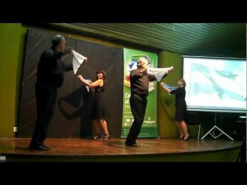 La Patria Digna y La Soberana .danza de proyeccion
