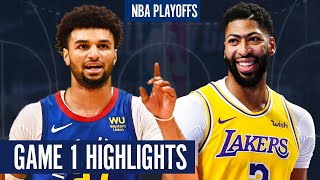 NUGGETS vs LAKERS GAME 1 - Full Highlights | 2020 NBA Playoffs
