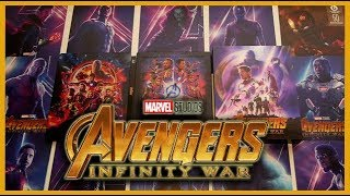 AVENGERS - INFINITY WAR - LIMITED LENTICULAR FULL SLIP STEELBOOK UNBOXING - BLUFANS EXCLUSIVE #50