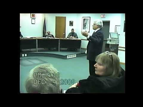 Rouses Point Village Board Meeting  12-4-06