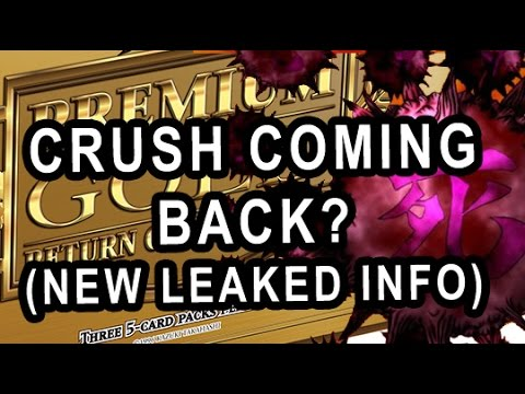 New Info Leaked Cards From Return Of the Bling (CRUSH CARD GOING TO BE LEGAL?)