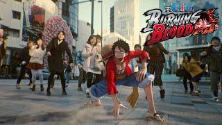 One Piece: Burning Blood - Live Action Trailer | PS4, XB1, Vita, Steam