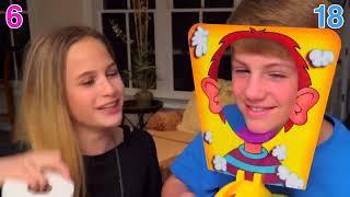 The Whipped Cream Challenge!  (MattyBRaps vs Liv)