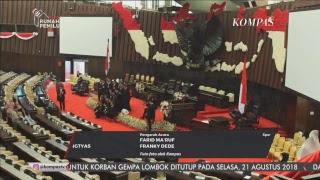 Laporan Khusus Presiden Sampaikan Nota Keuangan RAPBN 2019