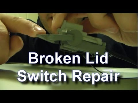 Fixing A Broken Kenmore Whirlpool Lid Switch For Free