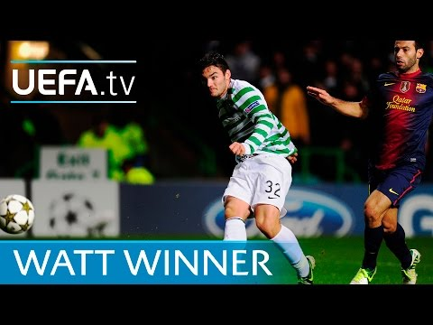 Tony Watt goal: See how Celtic beat Barcelona in 2012