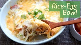 Breakfast Idea: Rice Egg Bowl!