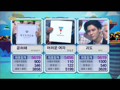 【TVPP】Taemin(SHINee) - Winner Interview of 'Danger', 태민(샤이니) - 괴도 1위 수상 소감 @ Show Music core