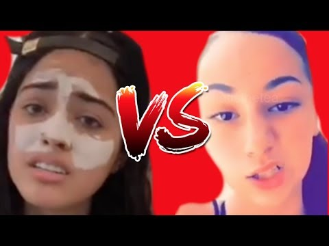 DANIELLE BREGOLI VS  MALU TREVEJO DANEILLE SAYS TO PULL UP IN MIAMI ALL RECEIPTS SNAPS AND LIVES