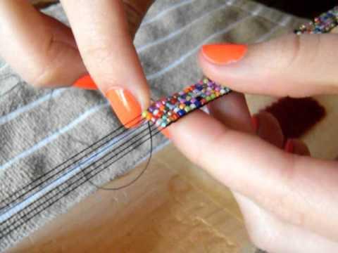 Making A Bead Loom Bracelet Youtube