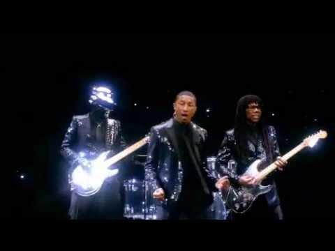 Baixar Daft Punk feat. Pharrell Williams - Get Lucky (1 Hr continuous mix) + Album tracklist