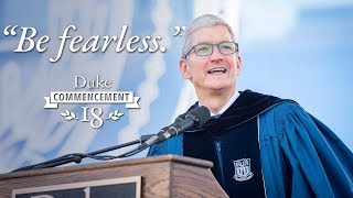 "Tim Cook: ""Be Fearless"" 