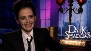 Eva Green on sex scene with Johnny Depp in 'Dark Shadows'