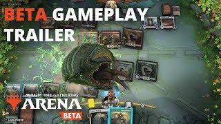 Magic: The Gathering Arena - Beta Gameplay Trailer