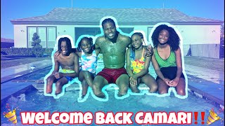 Finally Picked Up Camari From The Airport For The Summer!