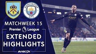 Burnley v. Manchester City | PREMIER LEAGUE HIGHLIGHTS | 12/03/19 | NBC Sports