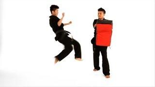 How to Do a Tornado Roundhouse Kick | Taekwondo Training