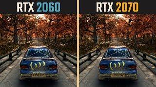 RTX 2060 vs. RTX 2070 (Test in 10 Games)
