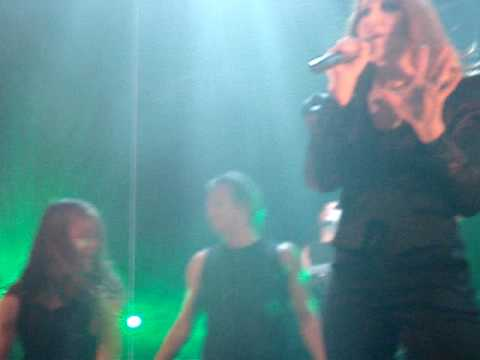 Epica ft. Ronald Landa - Force Of The Shore (live at Effenaar 2010)