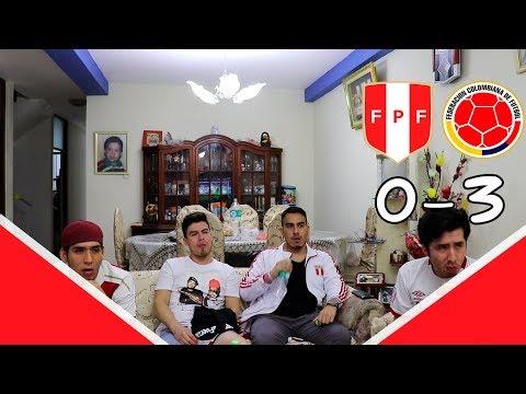 PERU VS COLOMBIA   09-06-19   REACCIONES AMISTOSO INTERNACIONAL