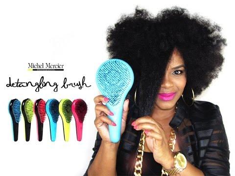 Michel Mercier Detangling Brush Natural Hair